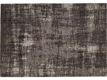 Webteppich  Harmonie - grau - Synthethische Fasern, 33% Baumwolle, 33% Polyester, 34% Polyacryl Chenille - 155 cm - Sconto