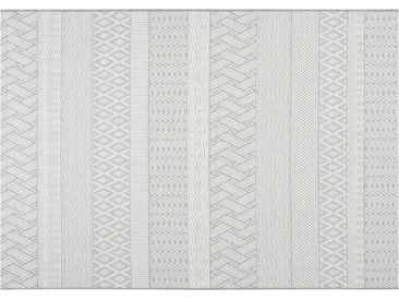HOME STORY Outdoor Teppich - grau - Synthethische Fasern - 160 cm - Sconto