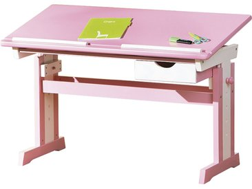 Schreibtisch - rosa/pink - 109 cm - 63 cm - 55 cm - Sconto