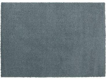 Hochfloorteppich  Soft Shaggy - blau - Mikrofaser, Synthethische Fasern - 140 cm - Sconto