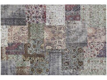 Kurzflorteppich - mehrfarbig - Synthethische Fasern, 34% Baumwolle, 33% Polyethylen, 33% Polyacryl Chenille - 120 cm - Sconto