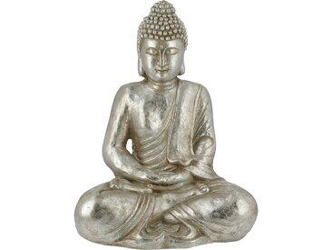 Buddha - silber - Magnesia - 39,3 cm - 49,5 cm - 28 cm - Sconto