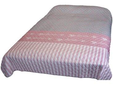 Bett- und Sofaüberwurf  Dream - rosa/pink - Sconto