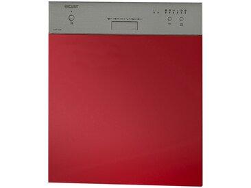Front für Geschirrspüler  Imola - rot - 59,6 cm - 57,2 cm - 2 cm - Sconto