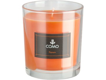como Duftkerze - orange - Wachs, Glas - Sconto