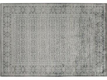 Webteppich  Famos - grau - 100% Viskose, Viskose - 160 cm - Sconto