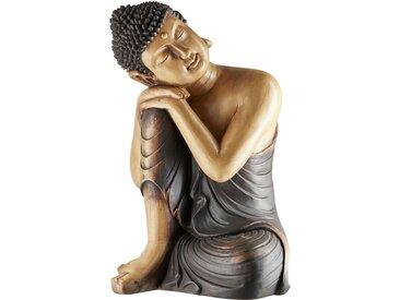 Deko-Buddha - braun - Polyresin (Kunstharz) - 42 cm - 58 cm - 36 cm - Sconto