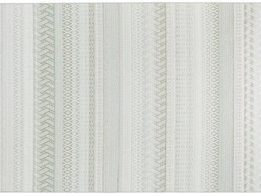 HOME STORY Outdoor Teppich - grün - Synthethische Fasern - Sconto