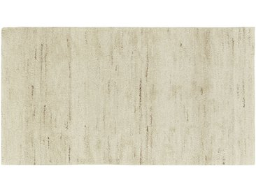 Berber-Teppich - creme - reine Wolle, Wolle - 90 cm - Sconto