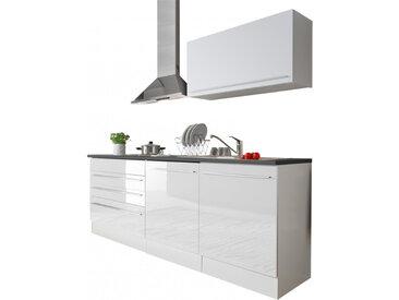 Bega Küchenblock JACK 4 Weiß/Anthrazit