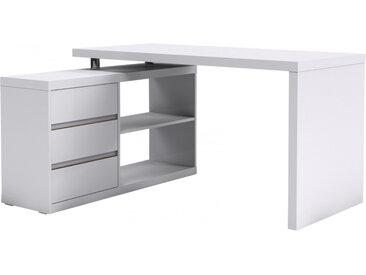 Multi Eck-Schreibtisch Weiß