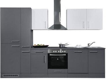 Bega Küchenblock PERCY 310 Anthrazit/Weiß