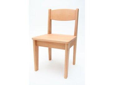 Kinderstuhl Buche Holz massiv geölt Sitzhöhe 32,5 cm Stuhl für Ki