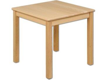 Kindertisch Holz Buche quadratisch massiv Tisch Kinder Kindergart