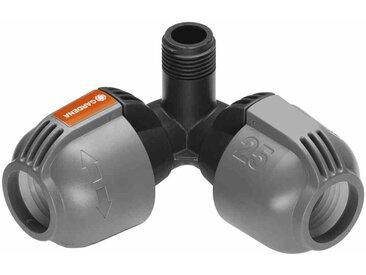 """Sprinklersystem Winkelstück 13mm(1/2"""") 25mm x 13mm Außengewinde"""