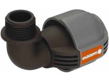 """Sprinkler-System L-Stück Außengewinde 19mm(¾""""), 25mm,"""