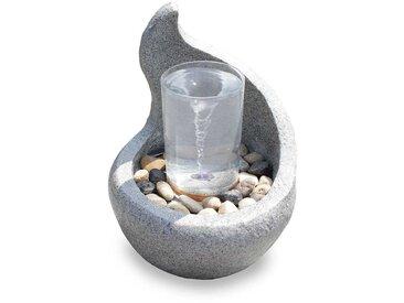Gartenbrunnen Dekobrunnen FoCurvo mit Wasserstrudel Effekt 10898