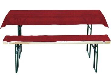 aro Festzeltgarnitur-Auflage Rot 220 cm x 25 cm