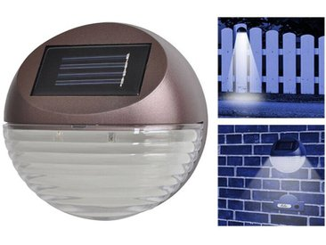 Solarlampen Set 4-teilig für Hausnummer Türklingel Treppenstufen