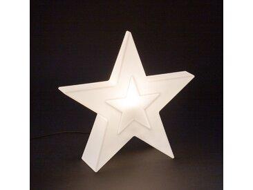 Scheurich Lumen Style Star, Leucht-Objekt aus Kunststoff, 55 cm