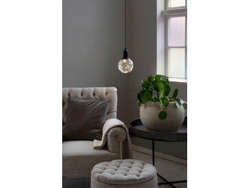 Konstsmide Transparente LED Kugellampe, mit an/aus Ziehschalter,