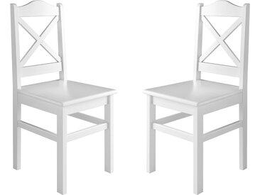 Küchenstuhl Massivholzstuhl Esszimmerstuhl Kiefer 2x Stühle