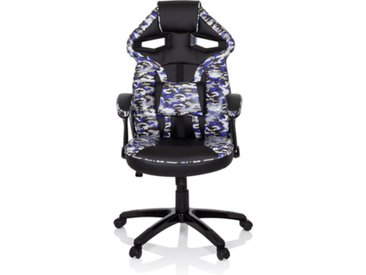 FIGHTER - Gamingstuhl Camouflage Grau