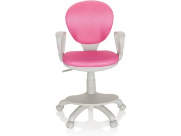 KID COLOUR G1 - Kinderdrehstuhl Pink / Grau