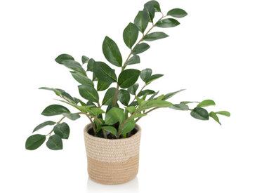 ZAMIE   Kunstpflanze - Grün