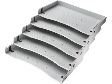 ACSA | Schrägablagen - Rollcontainer Grau