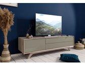 TV-Board Akazie 180x45x50 braun-creme lackiert TROMSO #005