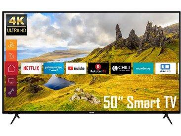 TELEFUNKEN XU50K521 50 Zoll Fernseher (Smart TV, Prime Video / Netflix, 4K UHD mit Dolby Vision HDR / HDR 10, Triple-Tuner, HD+)