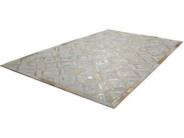 KAYOOM Designerteppich Spark 410 Elfenbein / Gold