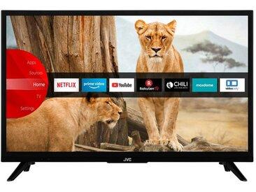 JVC LT-24VH5965 24 Zoll Fernseher (Smart TV inkl. Prime Video / Netflix, HD-Ready, Bluetooth, Triple-Tuner)