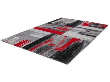 KAYOOM Designerteppich Dominica - Roseau Rot
