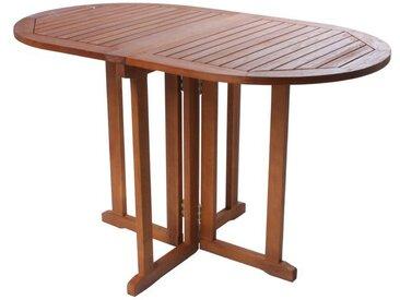 Garden Pleasure Balkontisch »BALTIMORE«, mit abklappbarer Tischplatte, aus Eukalyptusholz