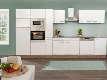 respekta Küchenzeile 370 cm Eiche York