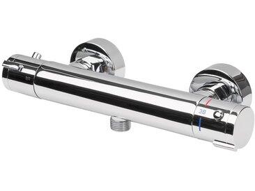 MIOMARE® Thermostat-Brause-/ Wannenarmatur, mit Eco-Stop-Funktion, Korpus aus Messing