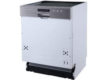 respekta teilintegrierter Einbaugeschirrspüler, »GSP60TiDMA++«, LED-Display