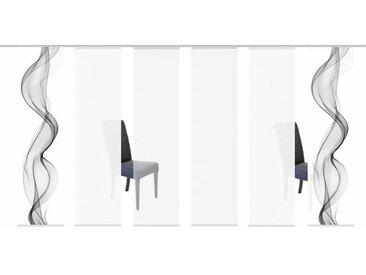 Home Wohnideen Schiebevorhang »Edmonton«, Wellenmotiv, 3er-, 4er-, 5er- & 6er-Set