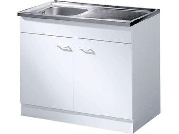 HELD Start Spülenschrank 80x85x60 cm (weiß)