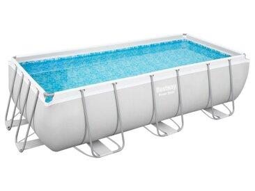Bestway Power Steel™ Frame Pool Komplett-Set, eckig