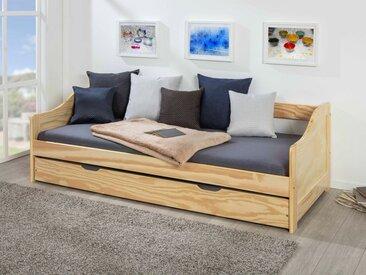 Sofabett »Laura« oder »Leonie«, inklusive 2 passenden Rollrosten, 1 Unterbett