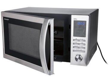 Sharp Mikrowelle, 900 Watt Leistung, 25 l Garraumvolumen, mit Grillfunktion