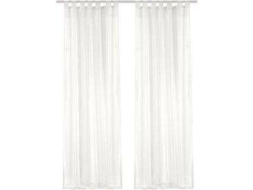 Home Wohnideen Schlaufenschal »Voile«, 2er-Pack, transparent, leicht & luftig, 120 x 245cm