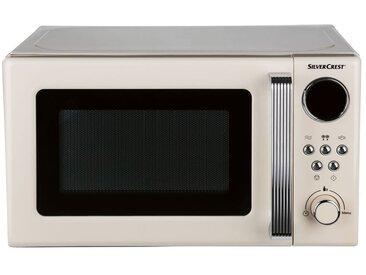 SILVERCREST® Mikrowelle »SMWC 700 B3«, 700 Watt, 17 l Garraumvolumen, mit Glas-Drehteller