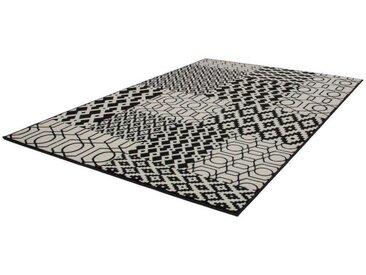 KAYOOM Designerteppich Lina 300 Multi / Schwarz