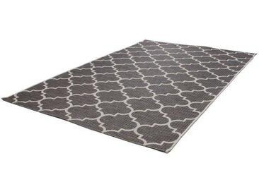 KAYOOM In- und Outdoor-Teppich Batu grau
