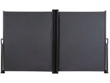 FLORABEST Seitenmarkise, 160x600 cm, mit 2 Haltepfosten