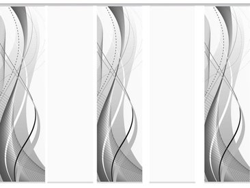 Home Wohnideen Schiebevorhang Carlisle 3er, 4er, 5er oder 6er Set, 245 x 60 cm